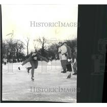1961 Press Photo Lombard Skater Novak Mary Senior Women - RRW39761