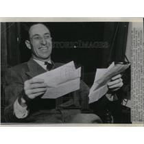 1939 Press Photo Harry Bridges Union Leader - RRW05979