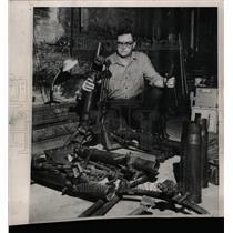 1964 Press Photo Country deputy sheriff Lou Rempe Witt - RRW23629