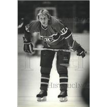 1982 Press Photo Craig Ludwig has been a pleasant surprise to Montreal hockey