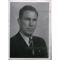 1954 Press Photo Herbert L. Smith Wayne State Coach - RRX38937