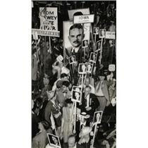 1940 Press Photo Dewey Park Republican Committe Protest - RRW82081