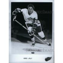 Press Photo Greg Joly, ice hockey - RRX39467