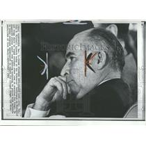 1969 Press Photo John Mitchell  Governors Narcotics Law