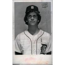 1979 Press Photo Dave Rozema Detroit Tigers Pitcher - RRX40073