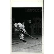 1973 Press Photo Bob Young Denver University Hockey - RRW73895