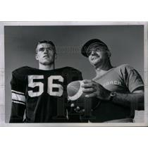 1962 Press Photo Fritz Brennecke School Football Coach - RRX43163
