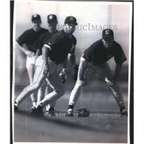 1994 Press Photo Pat Listach and team  - mjb07210
