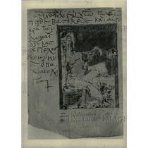 1928 Press Photo New Testament manuscript. - RRW75907