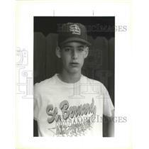 1993 Press Photo Diamond Baseball Hall of Fame - Aaron Barras, 13 Years Old