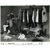 1986 Press Photo Rick Barksdale of Baton Rouge, Louisiana