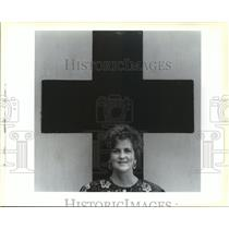 1993 Press Photo Frances Barker, Director of West St. Tammany Red Cross