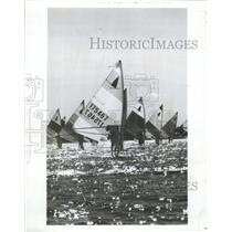 1983 Press Photo Illinois Windsurfer Championships - RRW47245