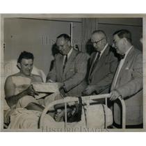 1953 Press FrankWiacek Louis Mirriani John Kronk James - RRX55511