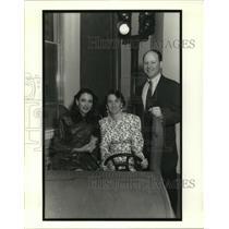 1991 Press Photo Srene Lutkewitte, Bridget and Bobby Borris at Children's Museum