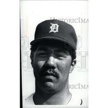 press photo Augie Ruiz Detroit Tigers player - RRX40213