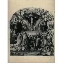 Undated Press Photo Adoration of the Holy Trinity - RRX72805