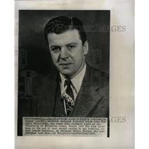 1951 Press Photo Wesley Fesler Ohio State University - RRW11189