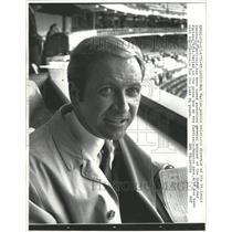 1971 Press Photo Bob Harlan St Louis baseball Cardinal - RRW30071