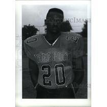 Press Photo Todel Brooks, Freeport High School - RRX39815