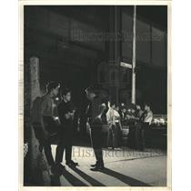 1966 Press Photo Vicious gang activities peace shaky - RRW43375