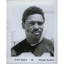 Cliff Branch American Football Wide Receiver. - RRW74857