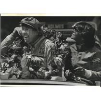 1983 Press Photo Auto racing's Tom and Sharon Sneva - sps11653