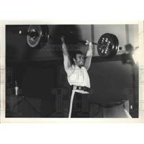 1972 Press Photo Weightlifter Jerry Thayer - sps11771