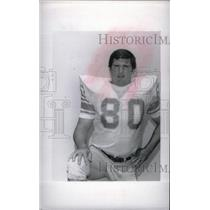 1977 Press Photo Herb Orvis Detroit Lions football - RRX39243