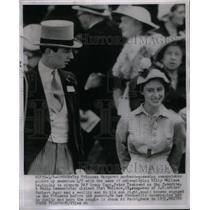 1951 Press Photo Princess Margare Billy Wallace London - RRX50469