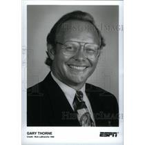 1996 Press Photo Gary Thorne ESPN - RRX40231