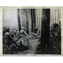 1944 Copy of 1918 Press Photo Red Cross Ambulance Corps - RRW62099