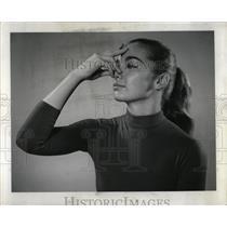 1961 Press Photo Yoga Breath Flow Postures - RRW91425