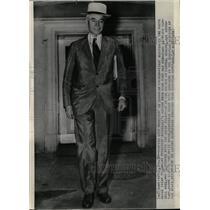 Press Photo Whitehouse Secretary of State Cordell Hull - RRW25981