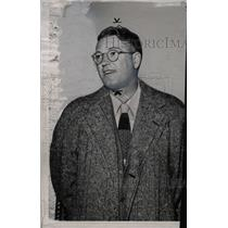 1950 Press Photo Earl Clark Football Star Coach - RRW75801