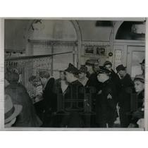 1937 Press Photo Sixteen Ford Pickets arrested. - RRX17641