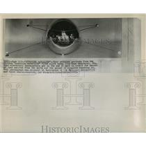 1959 Press Photo Antennas on Sunshine Satellite Fired from Cape Canaveral, Fla.