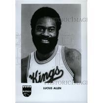 1979 Press Photo Lucius Oliver Allen Kansas City Kings - RRW74393