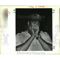 1988 Press Photo Jean Lafitte National Park - Park Ranger Bruce Barnes