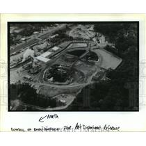 1998 Press Photo Bayou Bonfouca - Aerial View of Bayou, Slidell, Louisiana