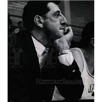 """1966 Press Photo Basil """"Buzz"""" Ciriello Basketball Coach - RRW21335"""