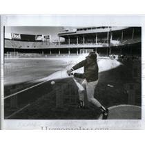 1987 Press Photo Rick Stelmaszek Minnesota Twins Coach - RRX51473