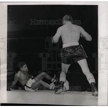1957 Press Photo Isidro Martinez bobby Courchesne win - RRW73253