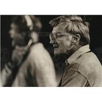 1988 Press Photo Alabama-Berry High School football coach Bob Finley on sideline