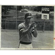 1978 Press Photo Alabama-Birmingham baseball coach, Roy Mewbourne. - abns00295