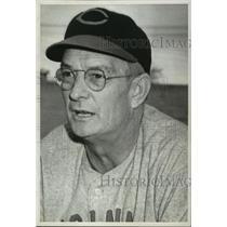 1941 Press Photo Cincinnati-baseball-William B. McKechnie - abns00612