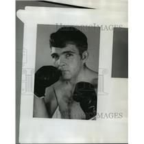 1971 Press Photo Boxer Bob McConnell poses for photo. - abns00719