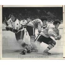 1974 Press Photo Houston Aeros Hockey - hca00970