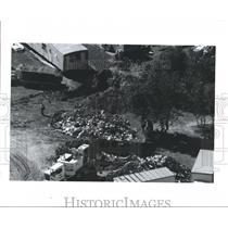 1990 Press Photo Aerial view of Cadavers, Houston, Texas - hca01280