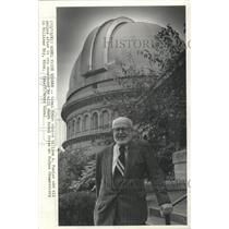 1983 Press Photo William A. Fowler, Nobel Prize Winner for physics, Williams Bay